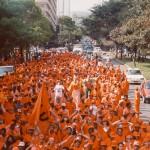 Desfile de aniversário SLU