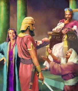 A Justiça de Salomão