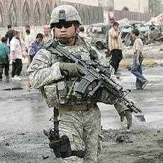 Como ganhar a guerra com um soldado desses?