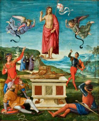 Raffaello_Sanzio_Ressurreição